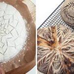 Vídeo hipnotizante dos bastidores revela a incrível técnica que os padeiros usam para criar os padrões sobre os pães